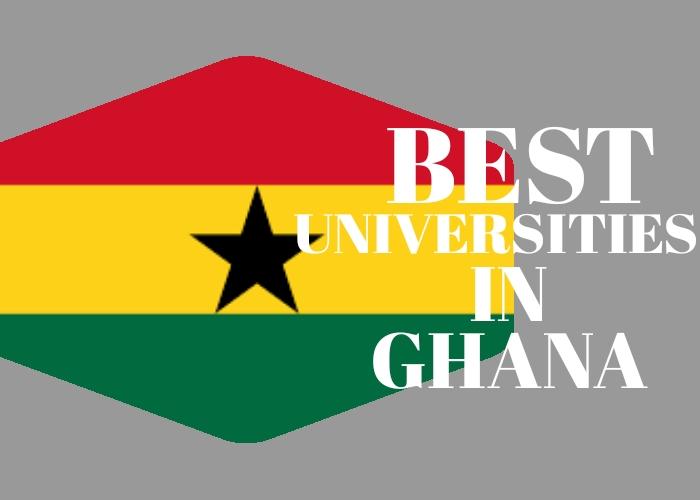 best universities in Ghana